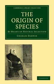 The Origin of Species front cover
