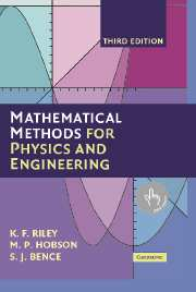 Mathematical Methods for Physics and Engineering (3rd ed.) front cover