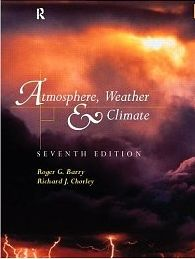 Atmosphere, Weather and Climate front cover