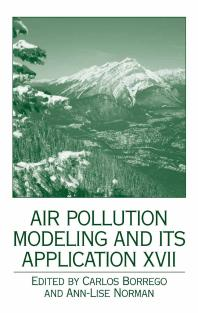 Air Pollution Modeling and its Application XVII front cover
