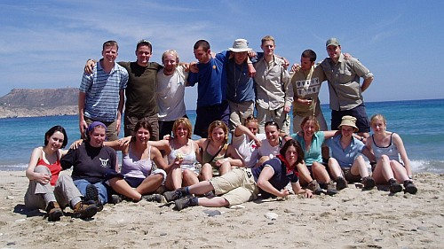 Group photo of the Class of 2005