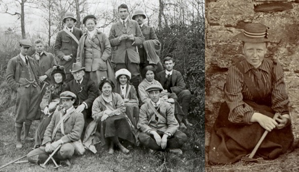 Photographs of Gertrude Elles with kind permission of the Sedgwick Club Archive