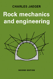 Rock Mechanics and Engineering front cover