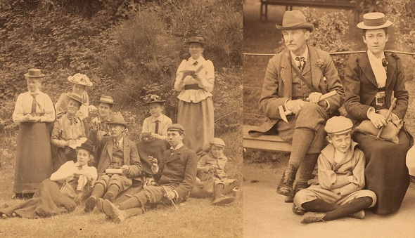 Photographs of Mary McKinny Hughes, by kind permission of the Sedgwick Club Archive