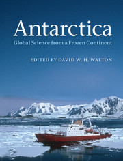 Global Science from a Frozen Continent front cover