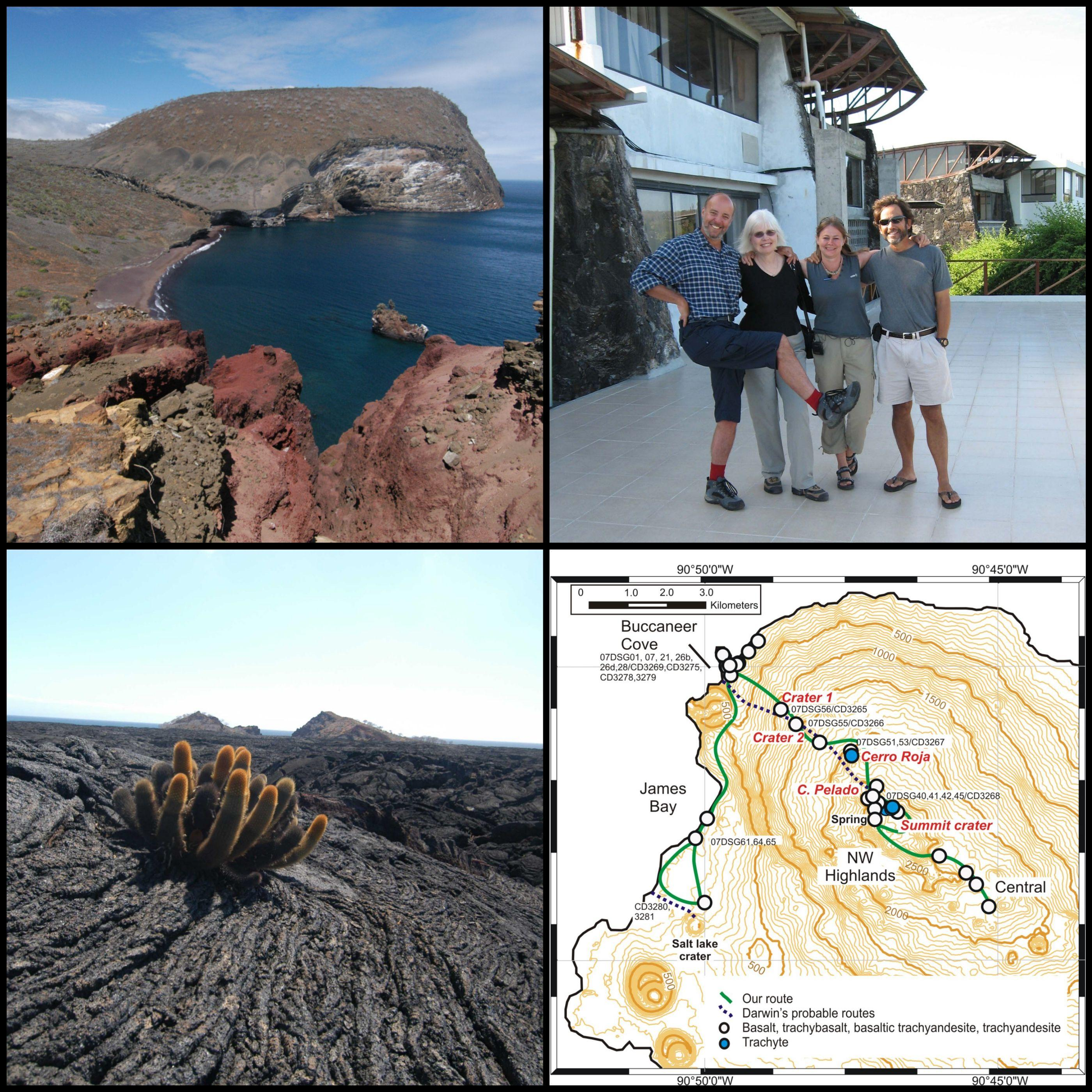 Collage galapagos