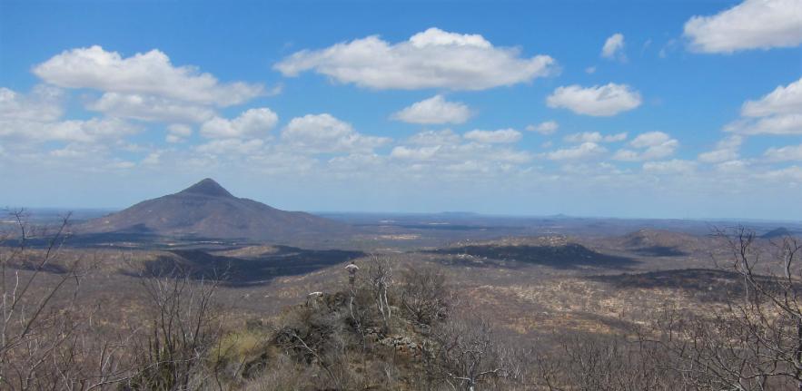 Looking towards Pico de Cabugi, the highest volcanic neck in the region; image credit Marthe Klöcking
